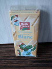 Belle France Chocolat Blanc 200 g - Lot de 7