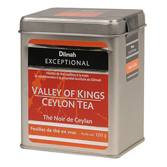 The noir de Ceylan Dilmah 100g Valley of Kings orange pekoe