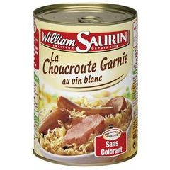 Choucroute Famille Gourmande William Saurin 400g