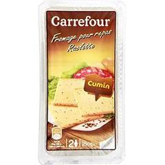 Fromage à raclette cumin Carrefour