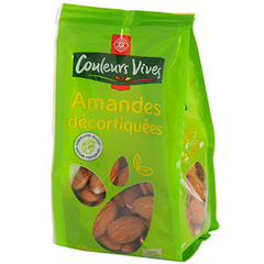 Amandes Couleurs Vives Decortiquees 125g