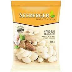 Amandes blanchies SEEBERGER, 200g