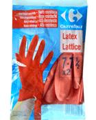 gants de menage en latex extra longue manchette 7 7 1 2 tous les produits d coration prixing. Black Bedroom Furniture Sets. Home Design Ideas