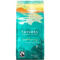 Taylors of Harrogate Bon Matin Fairtrade café biologique (227g) - Paquet de 6