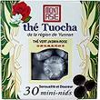 Mini the Tuocha au jasmin et rose MONT ASIE, 30 mini sachets, 54g