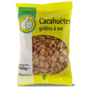 Pouce cacahuetes grillees a sec 150g
