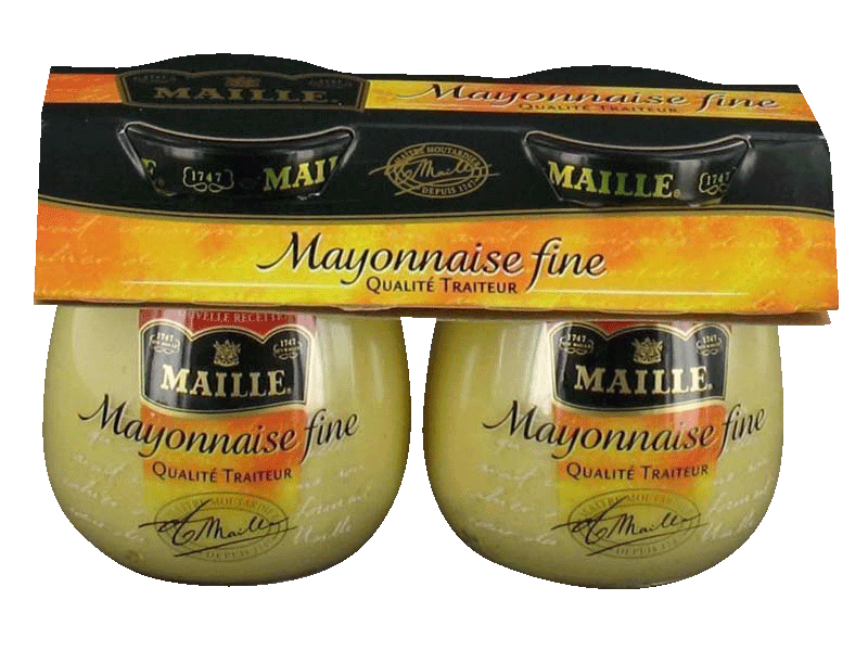 Maille mayonnaise fine 2x125g