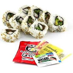 California Roll, sans poisson cru