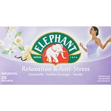 Elephant Infusion Relaxation et Anti-stress 25 sachets - Lot de 4