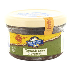 Tapenade noir provence Nos Regions ont du Talent 90g