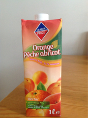 Nectar orange-pêche-abricot 1l