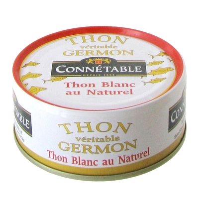 Thon blanc Connetable Naturel 1/5 112g
