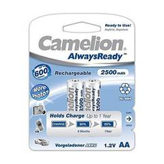 Camelion 17425206 Piles rechargeables Always Ready NiMH HR6 AA 2500 mAh