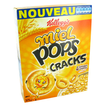 Cereales completes au miel, Cracks - Miel Pops