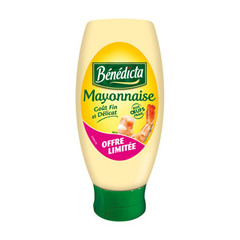Benedicta mayonnaise flacon souple 400g offre limitee