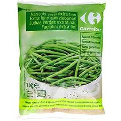 Haricots verts extra fins, saveur preservee Promo