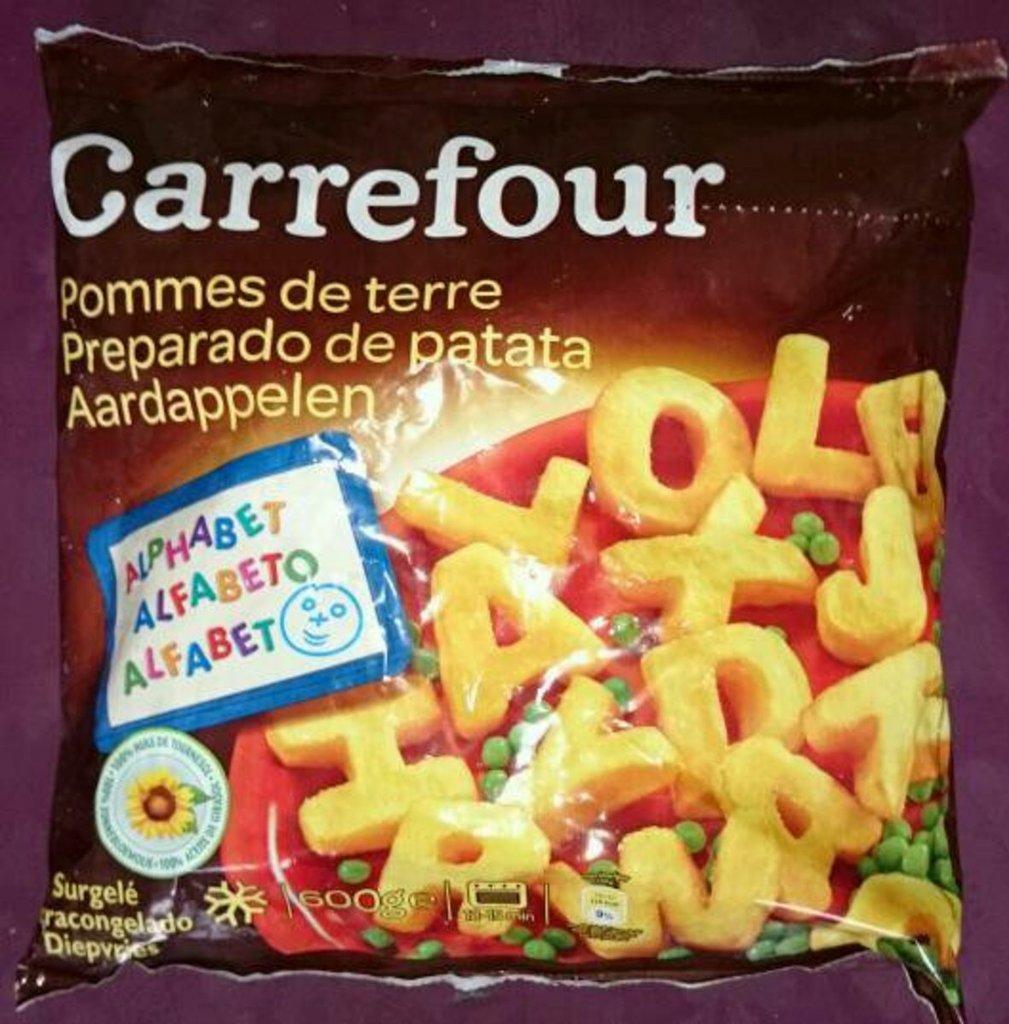 Pommes de terre alphabet tous les produits surgel s prixing - Carbonate de sodium danger ...