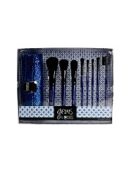 Royal & Langnickel Sapphire Gems 9-Piece Brush Set