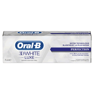 Oral B 3D white Luxe dentifrice perfection 75ml