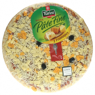 Pizza fraiche Turini 3 fromages 450g