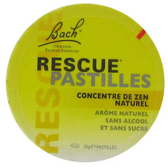 Pastilles rescue concentre de zen