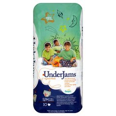 Pampers underjams pour garcon change x10 taille SM