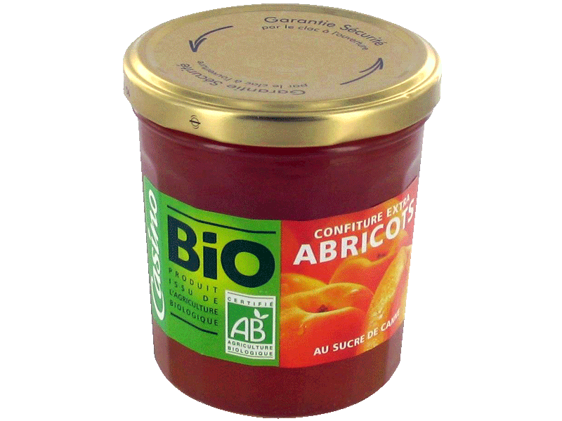 Confiture extra abricot 360g