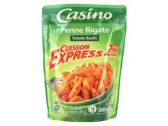 Penne Rigate Tomate Basilic Cuisson Express