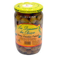 Olives cassees fenouil