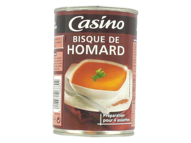 Casino bisque de homard