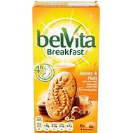 Belvita Breakfast Biscuits - Honey & Nuts (6x50g) - Paquet de 6