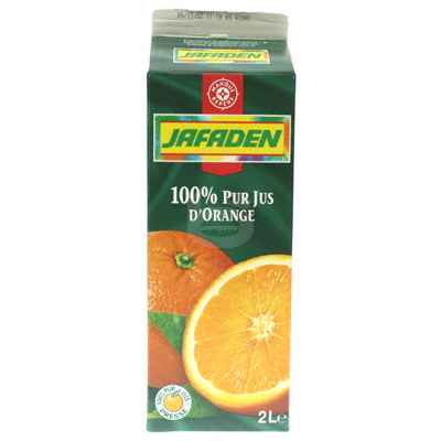 Jus d'orange Jafaden Pur 2l