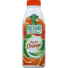 Pur jus pressade orange bouteille plastique 1l bric fruit