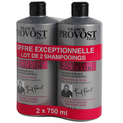 Franck Provost shampooing expert couleur 2x750ml
