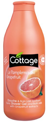 Cottage - Douche et Bain - Lait Tonifiant - Le Pamplemousse - - 750 ml - Lot de 2