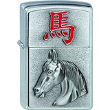 Zippo Briquet 2002 Year Of The Horse 2002454