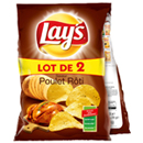 Lay's chips poulet thym 2x130g