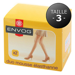 Lot de 2 collants Envog Lycra mousse taille 3 noir