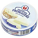 Fromage fondu au lait pasteurisé triangles fromagers U MAT&LOU, 19,5%MG 12 portions, 200g