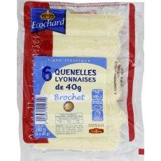 Quenelles de brochet ECOCHARD, 6 pieces, 240g