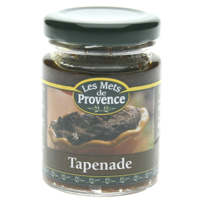 Mets de Provence tapenade noire huile olive vierge extra 90g
