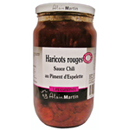 A. Martin haricots rouges sauce chili 800g