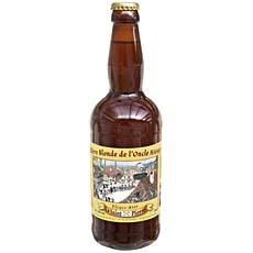 Biere blonde de l'Oncle Hansi SAINT PIERRE, 5.6°, 50cl