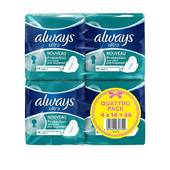 Always ultra serviettes hygieniques normal plus lot 4x14