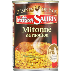 Mitonne de mouton aux flageolets Cuisine de Pays WILLIAM SAURIN