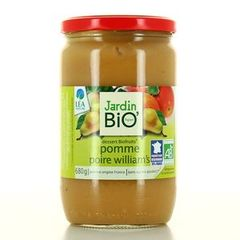 Biofruits Jardin compote pomme poire William -700g