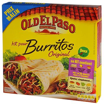 Kit pour burritos original - Tous les produits tex mex ...