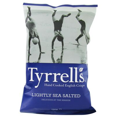 Chips legerement salee TYRELL'S, 150g