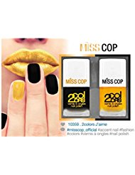 Miss Cop Accent Nails Kit de 2 Vernis à Ongles