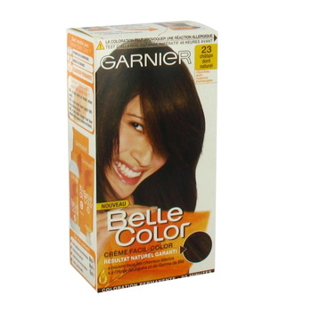 Coloration permanente BELLE COLOR, chatain dore n°23